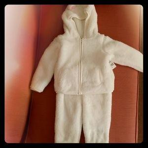 Fleece jacket and pants